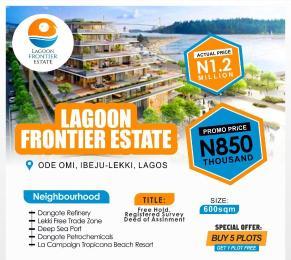Mixed   Use Land Land for sale Lagoon Frontier Estate, Ode-Omi. Ibeju-Lekki Lagos