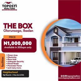 Land for sale The Box Olorunsogo Ibadan Iwo Rd Ibadan Oyo