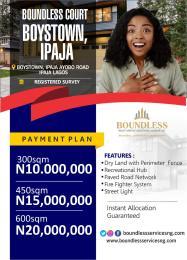 Residential Land Land for sale Boys Town Ipaja Lagos
