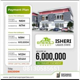 Residential Land Land for sale Isheri Egbe/Idimu Lagos