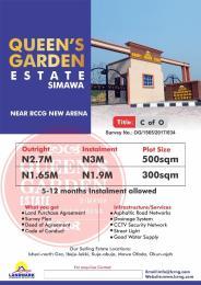 Residential Land Land for sale Queens Garden Estate Simawa Near Rccg New Arena Sagamu Sagamu Ogun