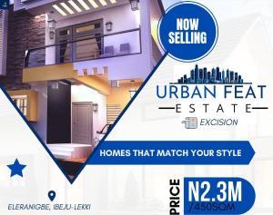 Mixed   Use Land Land for sale Proposed International Airport area Eleranigbe Ibeju-Lekki Lagos