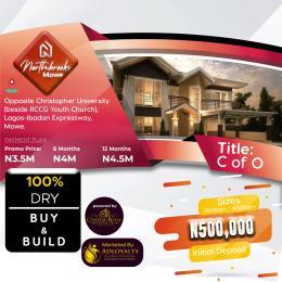 Residential Land Land for sale Mowe, Ogun state Mowe Obafemi Owode Ogun