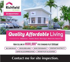 Residential Land Land for sale Odo-Eran, Obantoko Eleweran Abeokuta Ogun