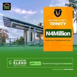 Residential Land Land for sale Okun Badore Eleko Ibeju-Lekki Lagos