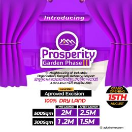 Land for sale Ilagbo, after Dangote Private Jetty, Ibeju-Lekki Lagos