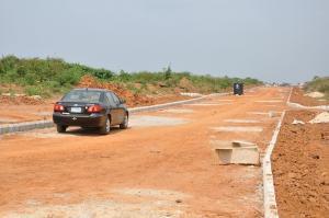 Land for sale Igbesa Road Agbara Agbara-Igbesa Ogun