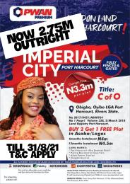Residential Land Land for sale Imperial city portharcourt Oyigbo Rivers