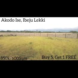 Mixed   Use Land Land for sale 5 Minutes Drive From La Campagne Tropicana Beach Resort Akodo Ise Ibeju-Lekki Lagos