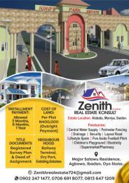 Serviced Residential Land Land for sale LAGOS/IBADAN RAILWAY TERMINUS, DRY PORT Akinyele Oyo