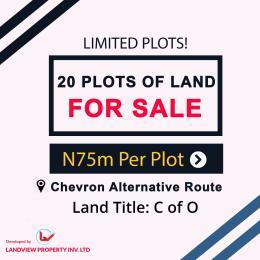 Mixed   Use Land Land for sale Alternative Route chevron Lekki Lagos