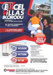 Mixed   Use Land Land for sale  Jaloke Community, Isiu Ikorodu North LCDA, Ikorodu  Ikorodu Lagos