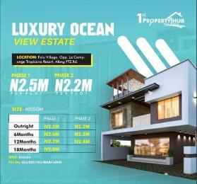 Residential Land Land for sale Luxury Ocean view Estate Folu Village Opp La Campaigne Tropicana Beach Resort LaCampaigne Tropicana Ibeju-Lekki Lagos