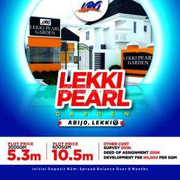 Mixed   Use Land Land for sale Behind Amity Estate and 1 minute drive from Lekki Epe Expressway. Abijo Ajah Lagos