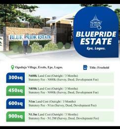 Residential Land for sale Eredo Epe Epe Road Epe Lagos