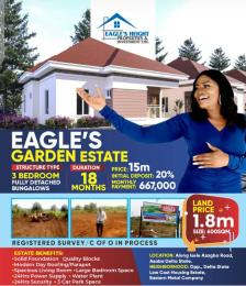Residential Land Land for sale Isele  Azagba Road Asaba Delta