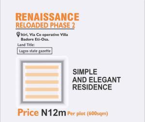 Residential Land Land for sale Itiri village behind cooperative villa estate Badore  Okun Ajah Ajah Lagos
