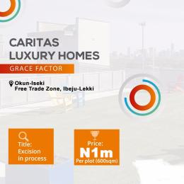 Residential Land Land for sale Caritas luxury home Grace factor Okun Iseki  LaCampaigne Tropicana Ibeju-Lekki Lagos
