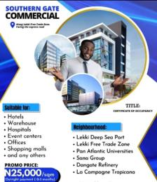 Commercial Land for sale Directly Facing The Lekki Trade Free Zone Ibeju-Lekki Lagos