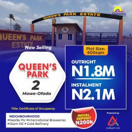 Residential Land for sale The Land Is Sharing Landmark With International Brewery Arepo Ogun