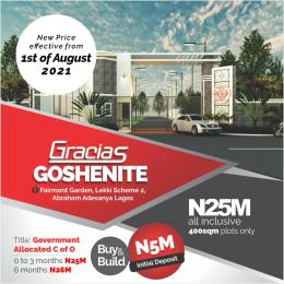 Residential Land for sale Fairmont Garden Lekki Scheme 2 Ogombo Ajah Lagos