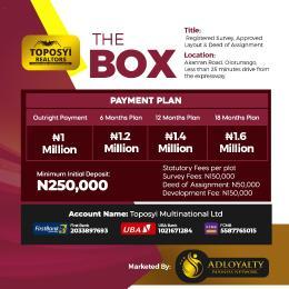 Residential Land for sale Olorunsogo Ibadan Oyo