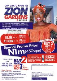 Mixed   Use Land Land for sale Ikpe community , Benin city, ikpoba okha lga  Ukpoba Edo