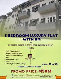 3 bedroom Flat / Apartment for sale Guzape, PP ESTATE, Close to COZA , Asokoro District Abuja Asokoro Abuja