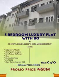 4 bedroom Blocks of Flats House for sale GUZAPE, CLOSE TO COZA, ASOKORO DISTRICT, ABUJA Asokoro Abuja