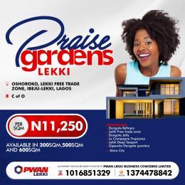 Mixed   Use Land Land for sale Oshoroko Free Trade Zone Ibeju-Lekki Lagos