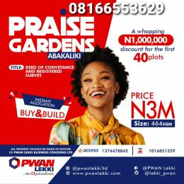 Mixed   Use Land Land for sale Abakaliki Ebonyi