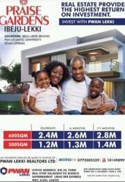 Mixed   Use Land Land for sale Behind PAN-Atlantic University undergraduate campus, Eleko. Eleranigbe Ibeju-Lekki Lagos