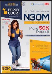 Residential Land Land for sale Berry Court Omole Phase 2 Omole phase 2 Ojodu Lagos