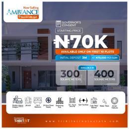 Residential Land Land for sale Atlantic Layout Estate, Beside LBS Ajiwe Ajah Lagos