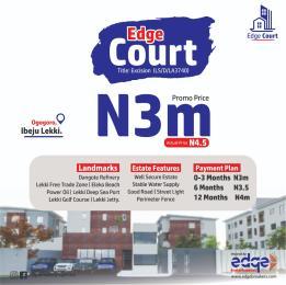 Residential Land for sale Edge Court Ogogoro Ibeju-Lekki Lagos