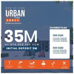 Residential Land Land for sale Along Abraham.Adesanya; Urban Prime 3 Annexe Ogombo Ajah Lagos