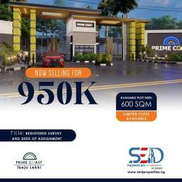 Residential Land Land for sale Sanusi Ibeju Lekki Lagos  Ibeju-Lekki Lagos