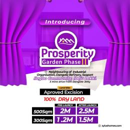 Residential Land for sale 3 Minutes From Dangote Jetty LaCampaigne Tropicana Ibeju-Lekki Lagos