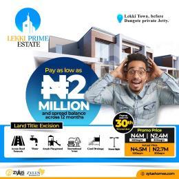 Residential Land Land for sale Before Dangote Jetty Free Trade Zone Ibeju-Lekki Lagos