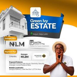 Residential Land Land for sale After Lacampagne Tropicana Ikegun Ibeju-Lekki Lagos