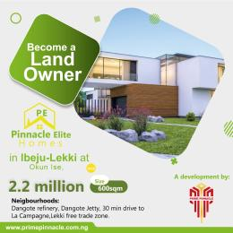 Residential Land Land for sale 2 Minutes From Lacampagne Tropicana Ise town Ibeju-Lekki Lagos