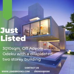 Land for sale Off Adeola Odeku Adeola Odeku Victoria Island Lagos