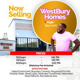 Residential Land Land for sale Westbury Homes, Inside Beechwood Estate Bogije Sangotedo Lagos