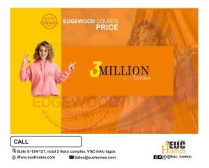 Residential Land for sale Edgewood Courts, Okun Ilado, 5 Minutes From Dangote Refinery Free Trade Zone Ibeju-Lekki Lagos