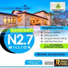 Residential Land Land for rent Ogogoro Ibeju-Lekki Lagos
