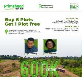 Residential Land for sale Otunla Community Ibadan Oyo