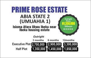 Residential Land Land for sale Near ibeku housing estate b Umuahia North Abia