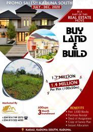 Residential Land Land for sale Kakau, After Gonin Gora Kaduna South Kaduna
