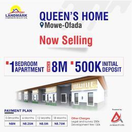 1 bedroom Blocks of Flats for sale Mowe Obafemi Owode Ogun