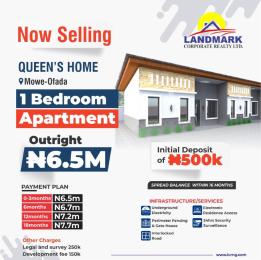 1 bedroom Detached Bungalow for sale 1bedroom Apartment Mowe Obafemi Owode Ogun